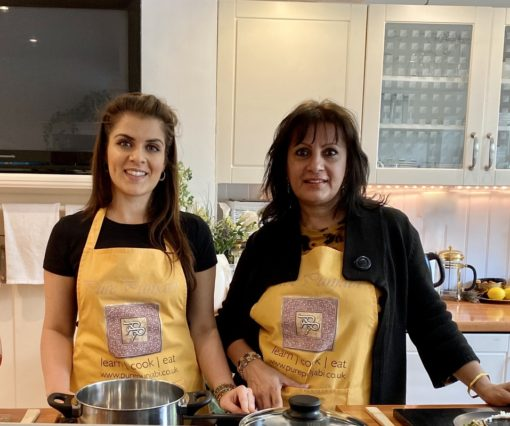 Pure Punjabi Indian cookery school, named a top 8 UK Indian cookery course by Olive Magazine