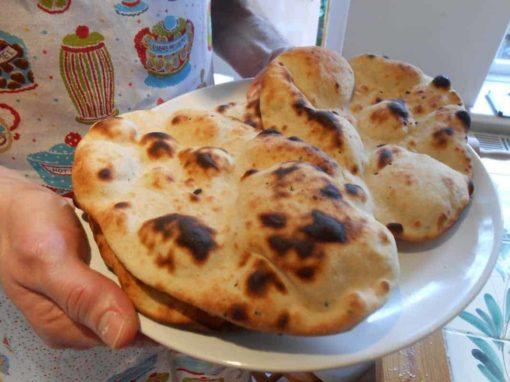 Pure Punjabi Naan Bread meal kit sachet