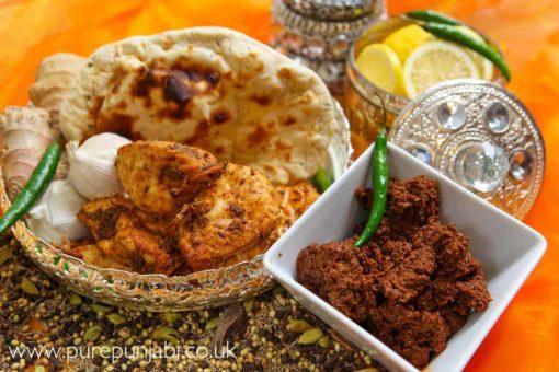 Pure Punjabi Naan bread & Tandoori Masala Great taste Award
