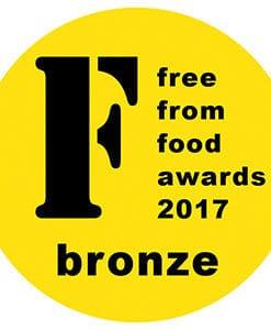 Bronze FreeFrom Food Awards 2017