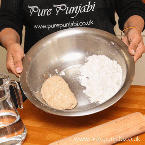 Pure Punjabi Indian Cookery School The Indian Experience - roti-making