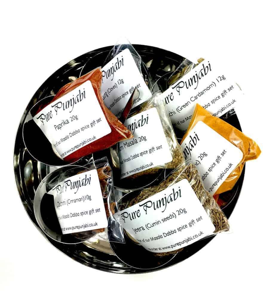 Pure Punjabi Masala Dabba spice tin