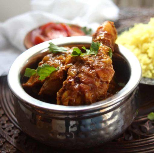 Pure Punjabi Indian Meal Box Punjabi Chicken