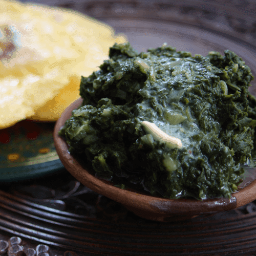 Pure Punjabi saag meal kit sachet