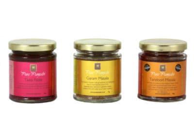 Pure Punjabi artisan spice jars