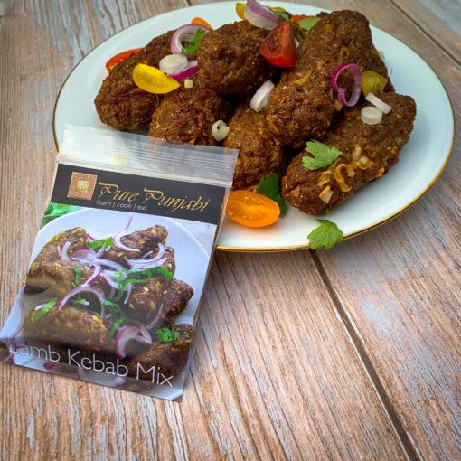 Pure Punjabi Lamb kebabs mix