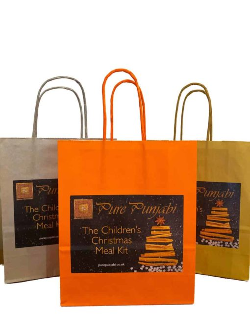 The Pure Punjabi Children's Christmas Meal Kit Bag