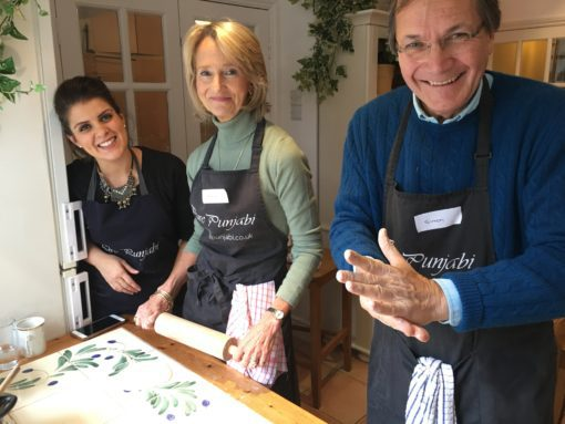 Pure Punjabi cookery school, The Indian Experience Cookery Workshop, named Top 8 UK Indian cookery courses by Olive Magazine