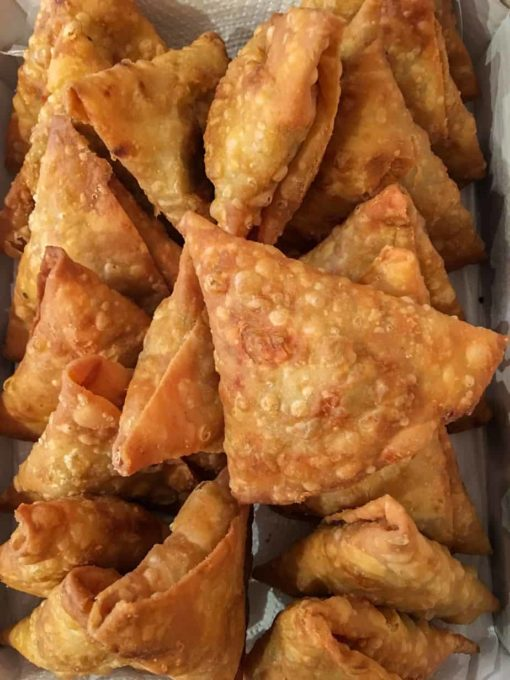 Pure Punjabi Indian Street Food cookery workshop and samosa meal kits