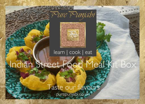 The Pure Punjabi-Indian-Street-Food-meal kit box