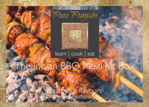 The Pure Punjabi Indian BBQ Meal Kit Box party experience