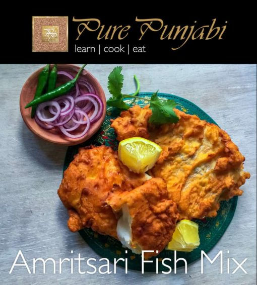 Amritsari Fish Mix, Pure Punjabi meal kits, meal sachets, Indian meal kits