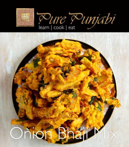 Pure Punjabi onion bhajis, pakore mix, onion bhaji mix, bhaji mix, Indian meal kits