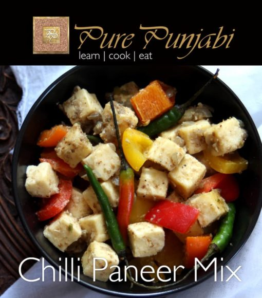 Pure Punjabi Chilli Paneer mix, indian meal kits, purepunjabi.co.uk
