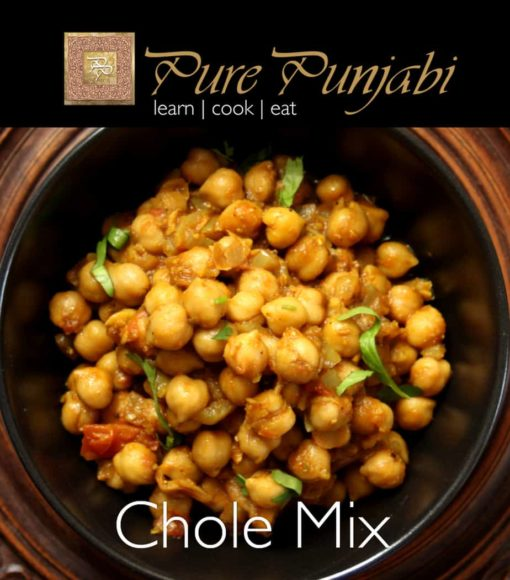 Pure Punjabi Chole Mix, chickpea curry, Indian meal kits, plantbased for vegans and vegetarians