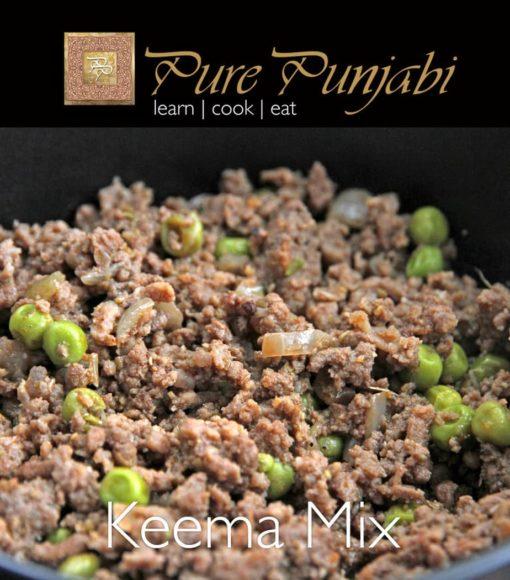 Pure Punjabi Keema Mix, Indian meal kits, purepunjabi.co.uk