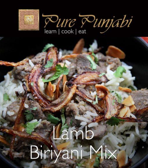 Pure Punjabi Lamb Biriyani Mix, Indian meal kit