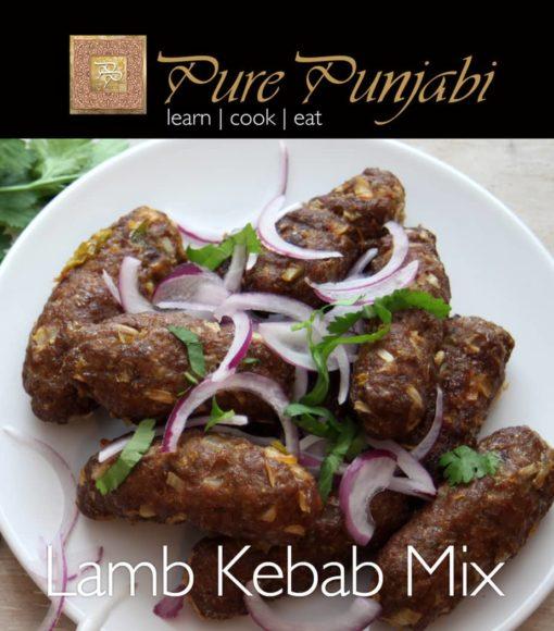 Pure Punjabi Lamb Kebab Mix, Indian meal kits, purepunjabi.co.uk