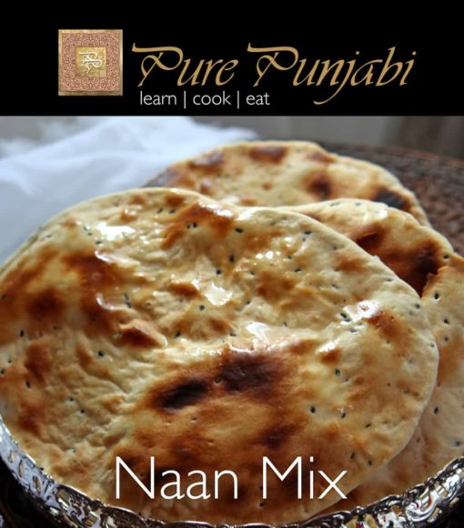 Pure Punjabi Naan Mix, Indian meal kits, purepunjabi.co.uk, make naan at home, naan kit