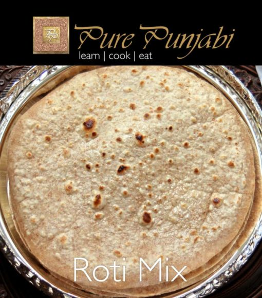 Pure Punjabi Roti Mix, Chapatti bread, roti bread, Indian meal kits