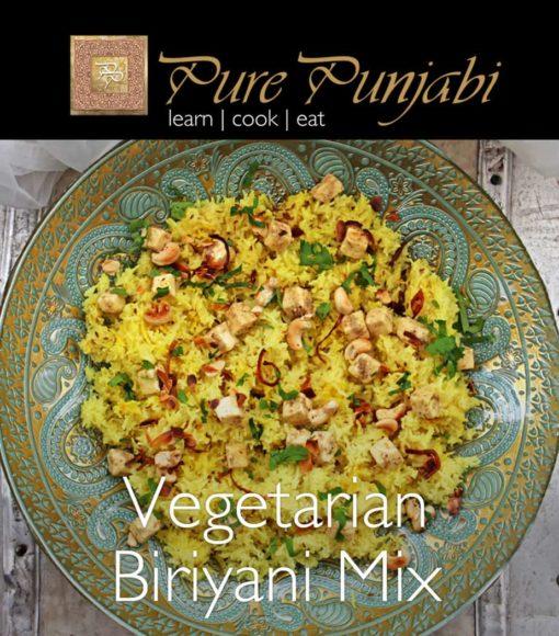 Pure Punjabi Vegetarian Biriyani Mix, Vegetarian Biriyani Mix, Indian meal kits, biriyani kit