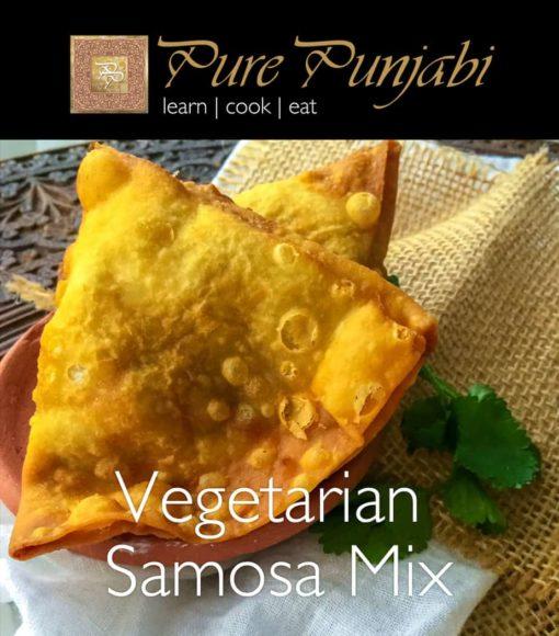 Vegetarian Samosa Mix, Pure Punjabi meal kits, Pure Punjabi Vegetarian Samosa Mix
