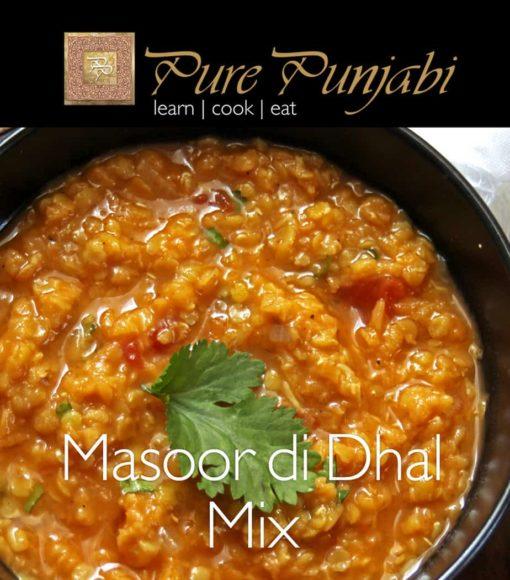 Pure Punjabi Masoor di dhal mix, red lentil dhal