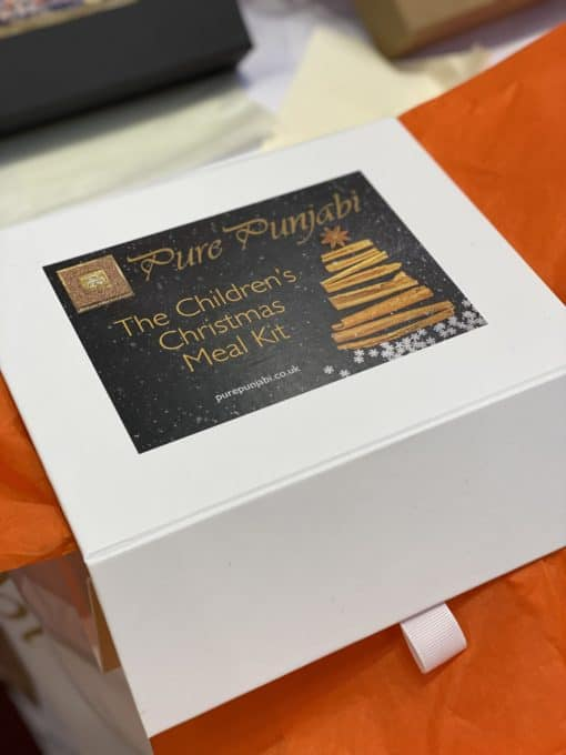 The Pure Punjabi Children's Christmas Meal Kit Box