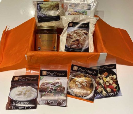 The Pure Punjabi Children's Christmas Meal Kit Box