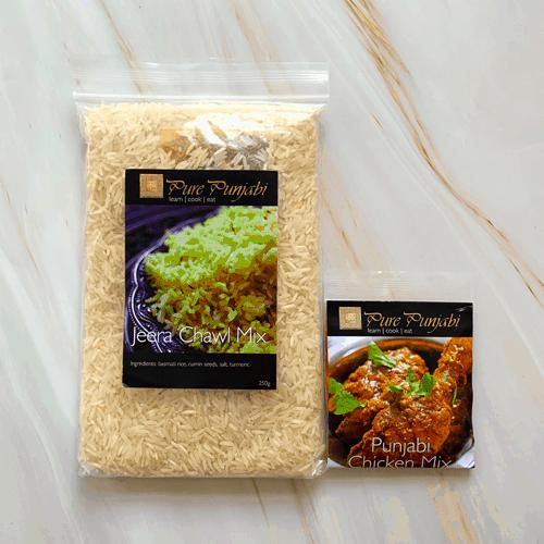Pure Punjabi Indian dinner kits