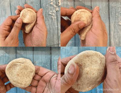 how to make paratha , paratha, Indian breads, purepunjabi.co.uk , Indian bread classes,