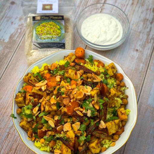 Pure Punjabi Vegetarian Biriyani meal kit