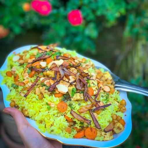 Pure Punjabi Vegetarian Biriyani meal kit and cook-along