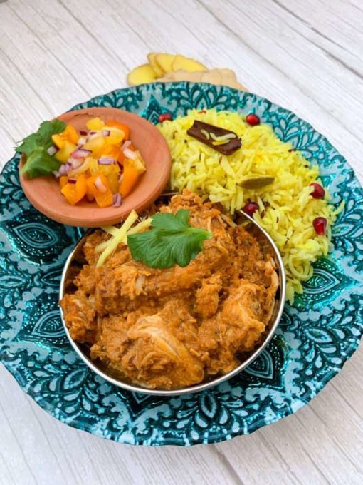 Pure Punjabi Adraki Chicken & Pilau Rice Dinner Kit