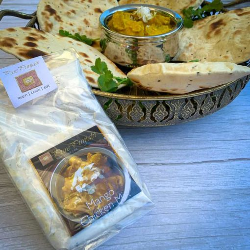Pure Punjabi Mango Chicken & Naan Bread Dinner kit