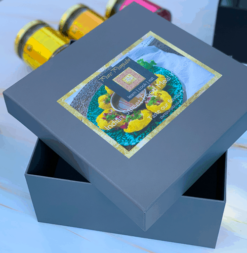 Pure Punjabi Indian Street Food Meal Kit Gift Box