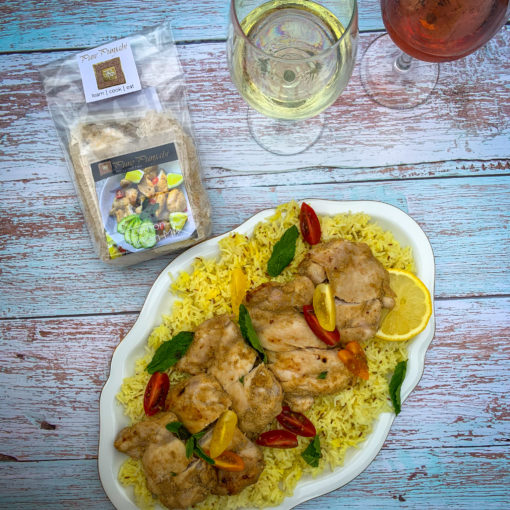Nimbu Chicken & Pilau Rice Dinner Kit