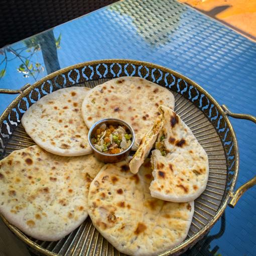 Peshwari naan, Pure punjabi Peshwari naan mix, vegan bread, flatbread, Indian flatbreads, meal kits, curry kits, www.purepunjabi.co.uk, www.indianmealkits.co.uk