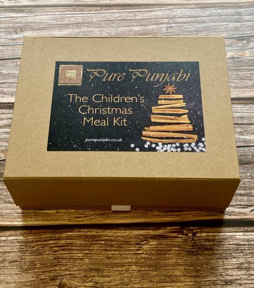 Pure Punjabi Children's Christmas Meal Kit Box