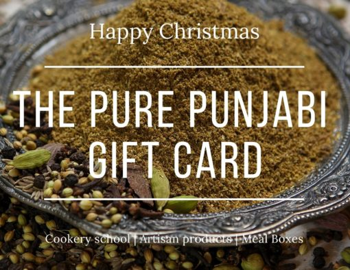 Pure Punjabi Christmas Gift Cards from £10 to £100