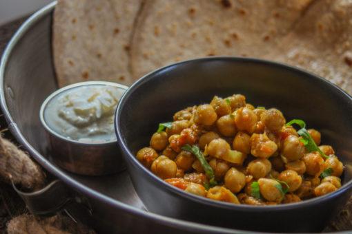 Pure Punjabi Indian meal kits Chole
